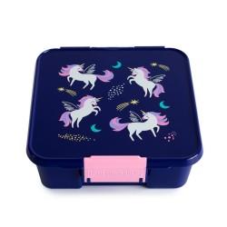 Little Lunch Box Co Znünibox Bento Five - Magisches Einhorn