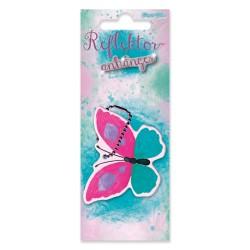 Reflektor Anhänger Schmetterling