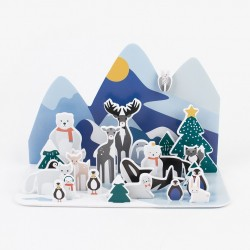 Adventskalender Polar Tiere von My Little Day