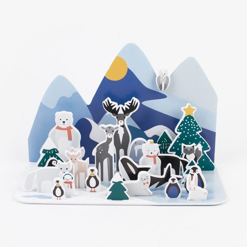 Adventskalender Polar Tiere von My Little Day