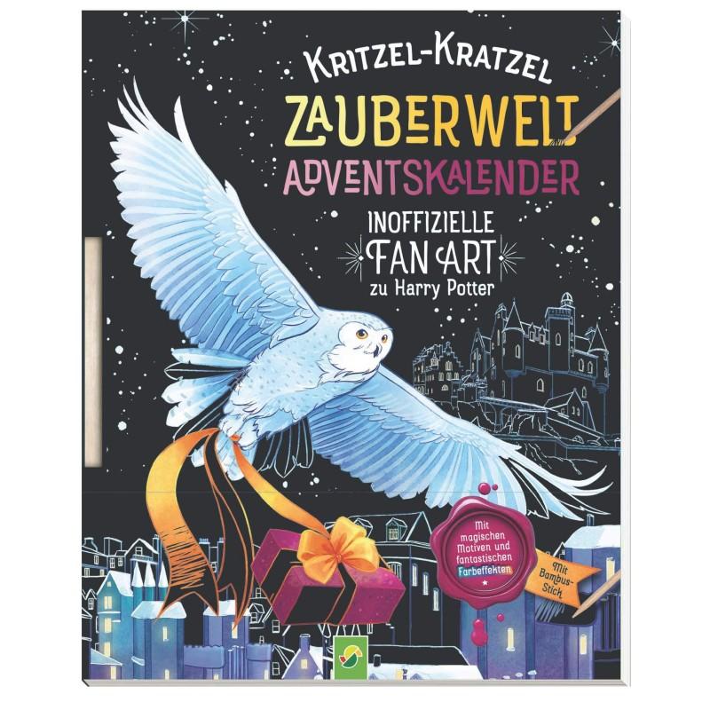 Kritzel-Kratzel Zauberwelt Adventskalender Fan-Art zu Harry Potter