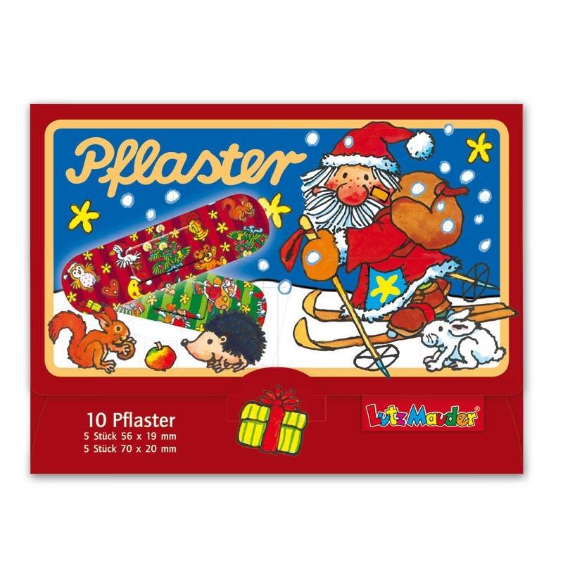 Pflasterbriefchen Weihnachten von Lutz Mauder