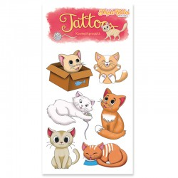 Tattoos Niedliche Katzen von Lutz Mauder