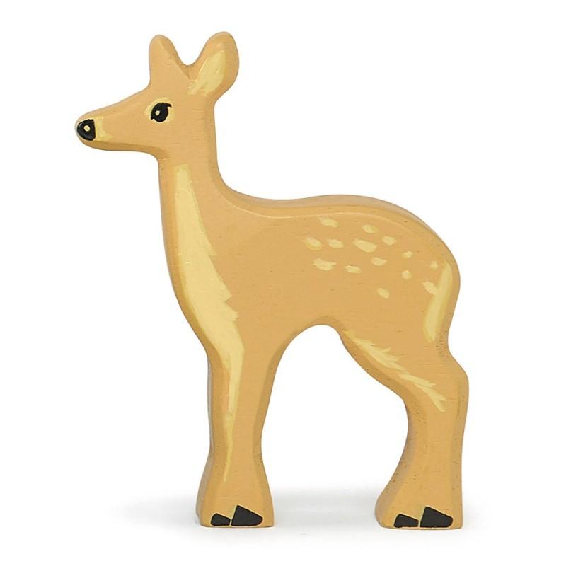 Holztier Damhirsch von Tender Leaf Toys