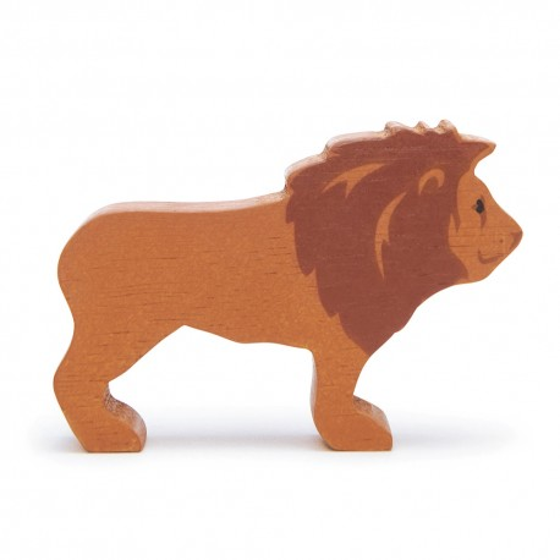 Holztier Löwe von Tender Leaf Toys