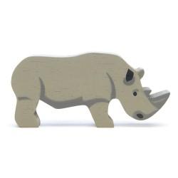 Holztier Nashorn von Tender Leaf Toys