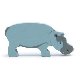 Holztier Nilpferd von Tender Leaf Toys