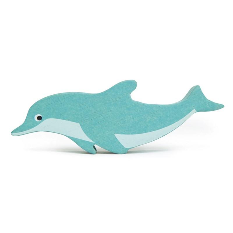 Holztier Delfin von Tender Leaf Toys