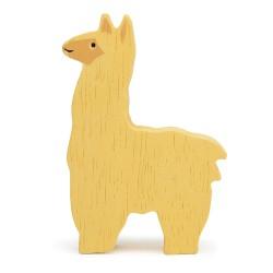 Holztier Alpaka von Tender Leaf Toys