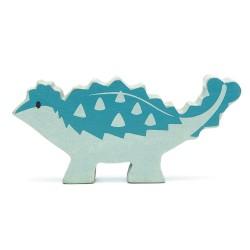 Holzfigur Dinosaurier Ankylosaurus von Tender Leaf Toys