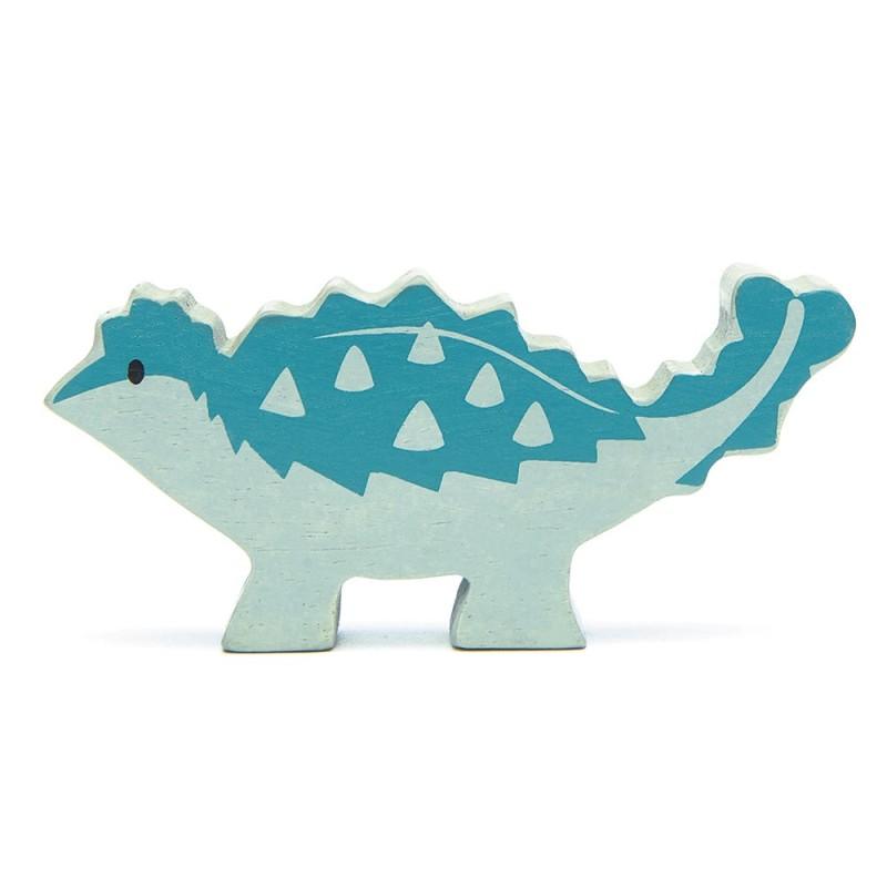 Holztier Dino Ankylosaurus von Tender Leaf Toys