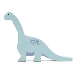 Holzfigur Dinosaurier Brachiosaurus von Tender Leaf Toys