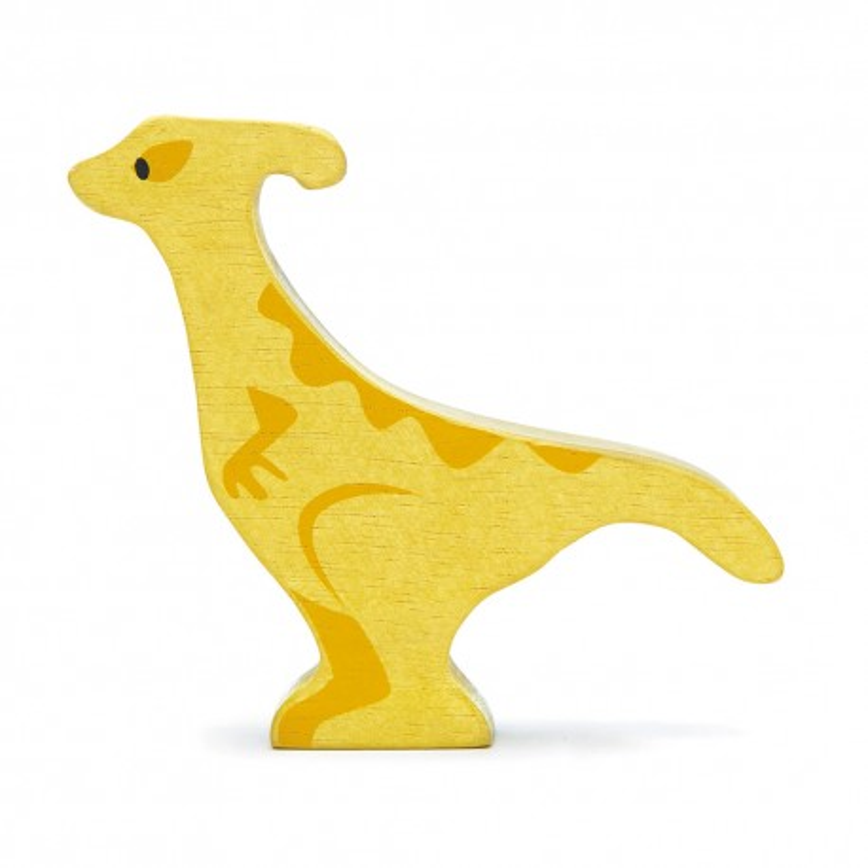 Holztier Dino Parasaurolophus von Tender Leaf Toys