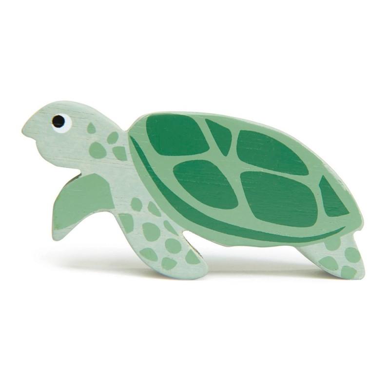Holztier Schildkröte von Tender Leaf Toys