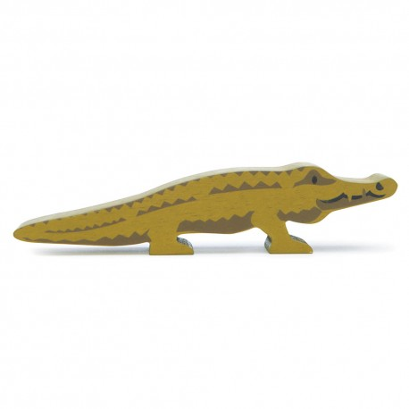 Holztier Krokodil von Tender Leaf Toys