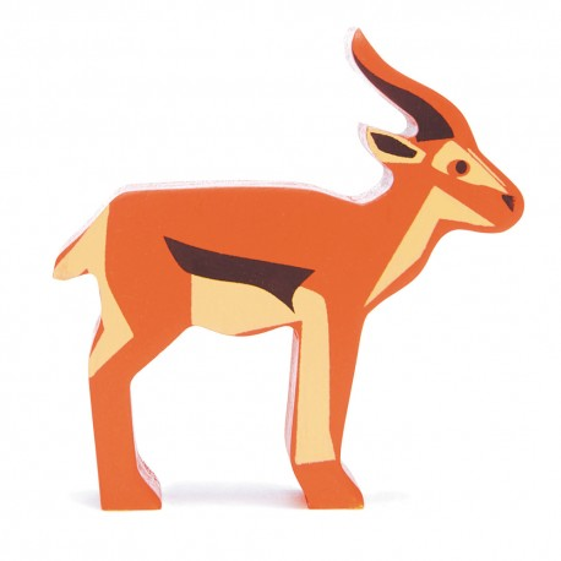 Holztier Antilope von Tender Leaf Toys