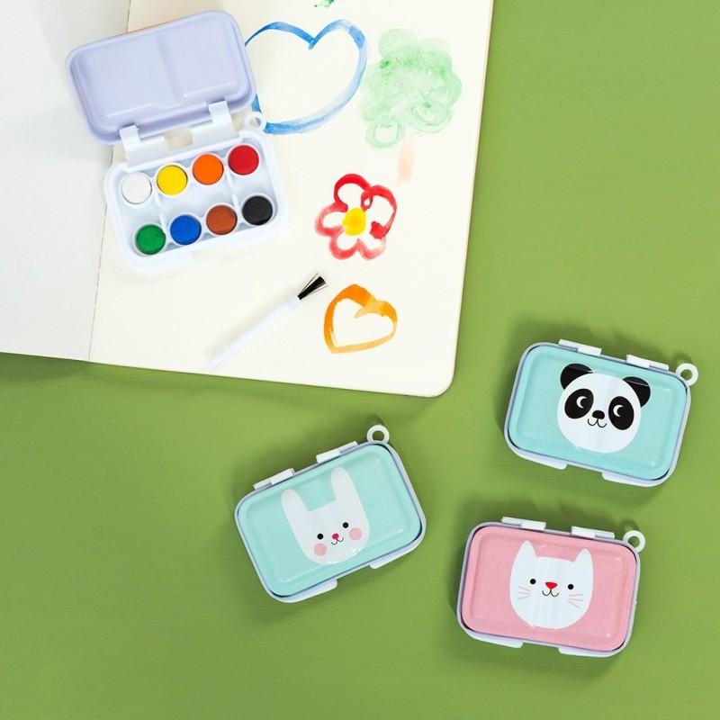 Mini Wasserfarben Miko the Panda und seine Freunde von Rex London