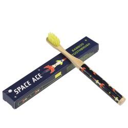 Bambus Zahnbürste Weltraum Space Age für Kinder von Rex London