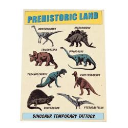 Tattoos Dinosaurier Pehistoric Land von Rex London