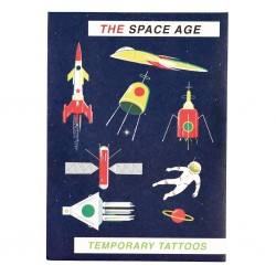 Tattoos Weltraum Space Age von Rex London