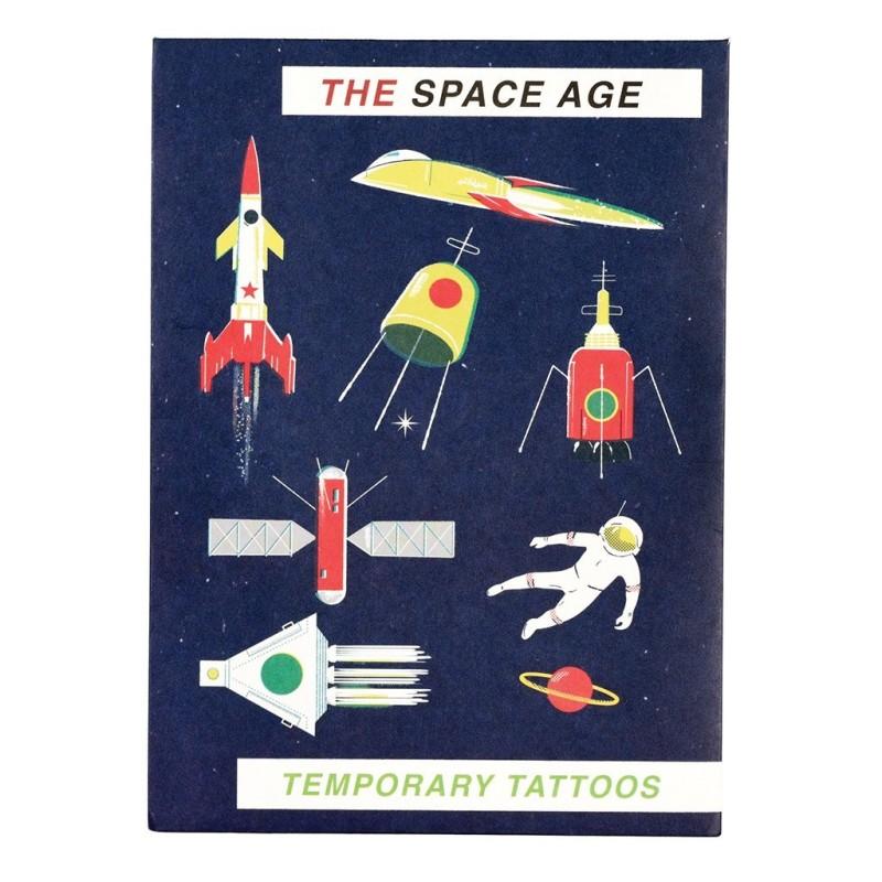 Tattoos Weltraum Space Age von Rex London
