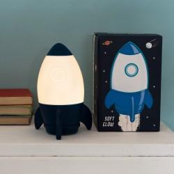 Nachtlicht Rakete Space Age von Rex London