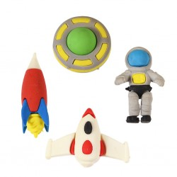 Radierer Weltraum Space Age von Rex London