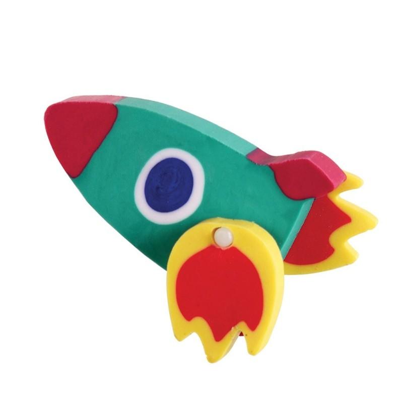 Radierer Rakete Space Age von Rex London