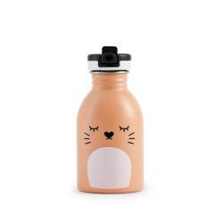 24Bottles Trinkflasche Noodoll Ricemimi in pfirsichfarben