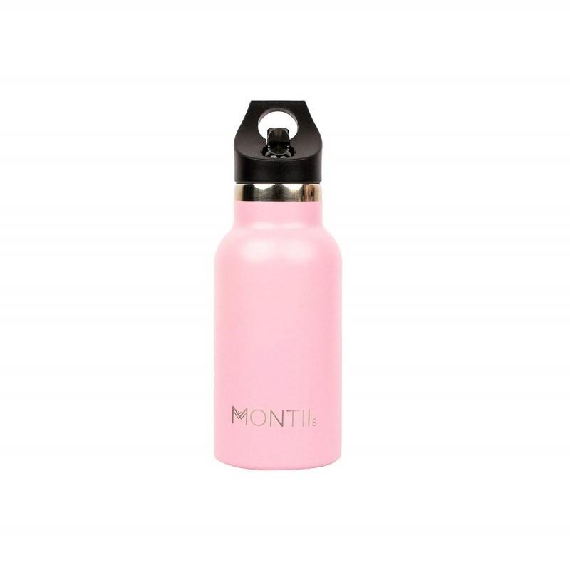 Isolierte Edelstahl Kinder Trinkflasche in dusty pink von MontiiCo