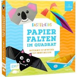 Bastel-Kids - Papierfalten im Quadrat