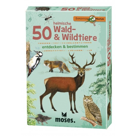Expedition Natur 50 heimische Wald- & Wildtiere