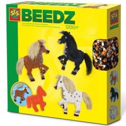 Beedz Bügelperlen Pferde mit Mähnen von SES creative