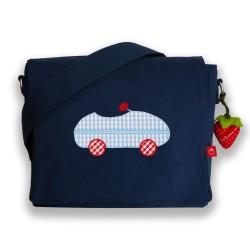 Kindergartentasche Rennwagen Auto von la fraise rouge