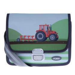 FUNKI Kindergartentasche Roter Traktor