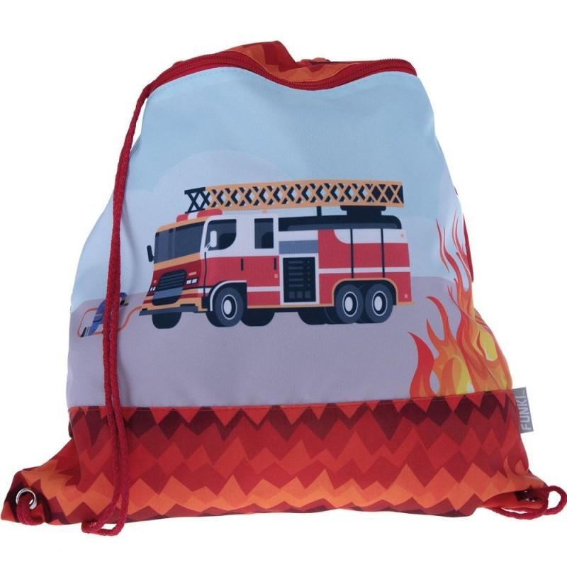 FUNKI Turnbeutel Feuerwehr Fire Alarm