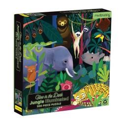 Glow in the Dark Puzzle Dschungel mit 500 Teilen