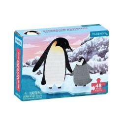 Mini Puzzle Pinguin von mudpuppy