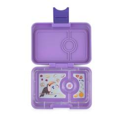 Yumbox Znünibox Mini mit 3 Fächern - Dreamy Purple