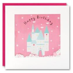 Geburtstagskarte Feen Schloss Konfetti Shakies