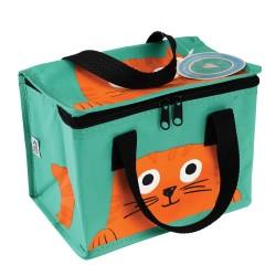 Isolierte Lunch Bag Tasche Chester die Katze von Rex London