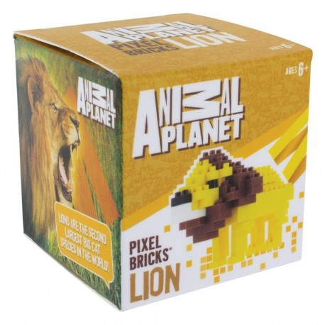 Animal Planet Pixel-Stein-Set Löwe
