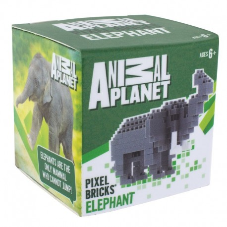 Animal Planet Pixel-Stein-Set Elefant