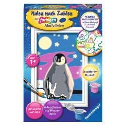 Malen nach Zahlen Malset Kleiner Pinguin