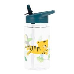 Trinkflasche Dschungel Tiger von A Little Lovely Company