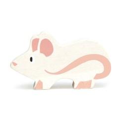 Holztier Maus von Tender Leaf Toys