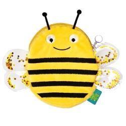 Portemonniae Biene mit Glitzerflügeln