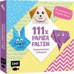 111x Papierfalten Kinderleichter Faltspass