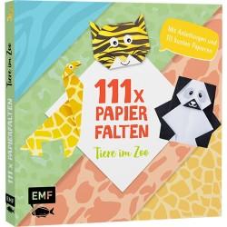 111x Papierfalten Tiere im Zoo