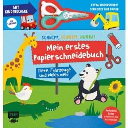 Schnipp, schnipp, hurra! Mein erstes Papierschneidebuch mit Kinderschere